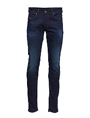 SLEENKER-X TROUSERS - DARK BLUE WASH