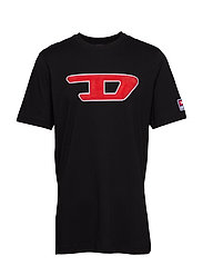 T-JUST-DIVISION-D T-SHIRT - BLACK