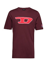 T-JUST-DIVISION-D T-SHIRT - TAWNY RED