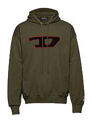 S-DIVISION-D SWEAT-SHIRT - OLIVE NIGHT