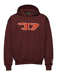 S-DIVISION-D SWEAT-SHIRT - TAWNY RED