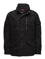 J-ENGINES JACKET - BLACK