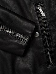 Diesel Men - L-CASE-KA - lederjacken - black black black - 5