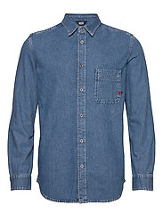 D-BILLY SHIRT - DENIM