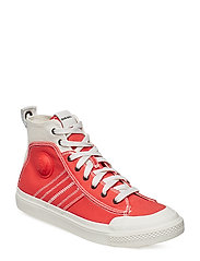 """ASTICO"" S-ASTICO MID LACE - sneake - STAR WHITE/POPPY RED"
