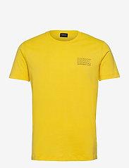Diesel Men - UMLT-JAKE T-SHIRT - short-sleeved t-shirts - dandelion - 0