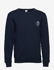 Diesel Men - UMLT-WILLY SWEAT-SHIRT - tops - dark/blue - 0