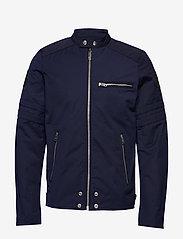 Diesel Men - J-GLORY GIACCA JACKET - light jackets - total eclipse - 0