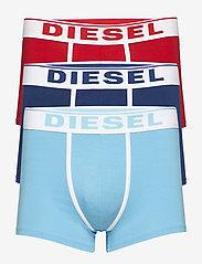 Diesel Men - UMBX-DAMIENTHREEPACK BOXER-SHORTS - boxers - ah42g+ah80r+ah8ba - 0