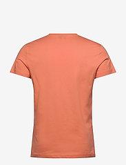 Diesel Men - T-DIEGO-LOGO T-SHIRT - short-sleeved t-shirts - orange - 1