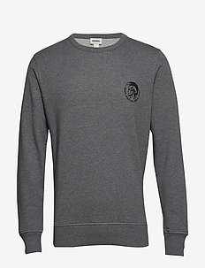 UMLT-WILLY SWEAT-SHIRT - GREY MELANGE BC21