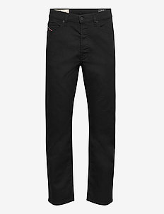 D-MACS  L.30 TROUSERS - regular jeans - black/denim