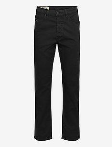 D-MACS  L.32 TROUSERS - regular jeans - black/denim