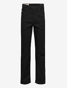 D-MACS  L.34 TROUSERS - regular jeans - black/denim