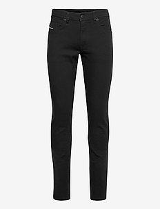 THOMMER-X TROUSERS - slim jeans - black/denim