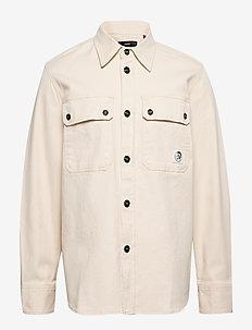S-JESSY SHIRT - basic shirts - vapourous gray