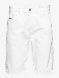 THOSHORT SHORTS - denim shorts - bright white