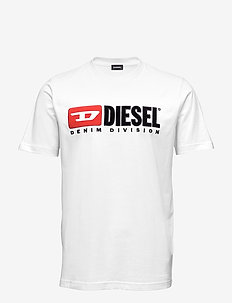 T-JUST-DIVISION T-SHIRT - BRIGHT WHITE