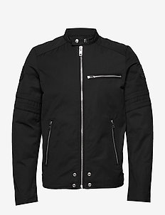 J-GLORY GIACCA JACKET - light jackets - black