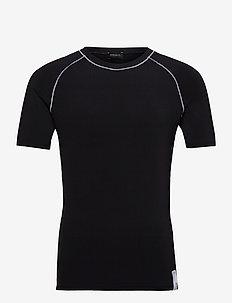 UMTEE-YOSHI T-SHIRT - basic t-shirts - black