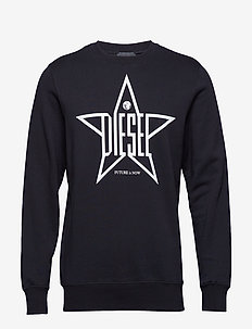 S-GIR-YA SWEAT-SHIRT - BLACK