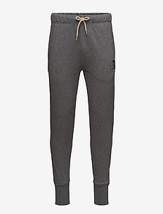 UMLB-PETER TROUSERS - GREY MELANGE BC21