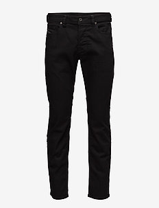 LARKEE-BEEX TROUSERS - BLACK/DENIM