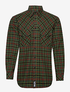 S-TOLSTOJ SHIRT - DARK GREEN