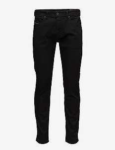 THOMMER TROUSERS - slim jeans - black/denim