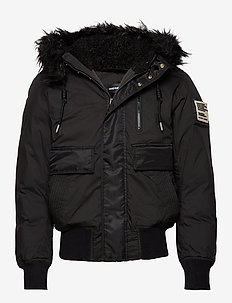 W-BURKISK JACKET - BLACK