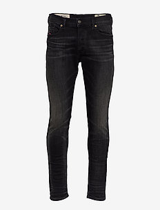 TEPPHAR-X TROUSERS - slim jeans - black/denim