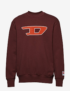 S-CREW-DIVISION-D SWEAT-S - TAWNY RED
