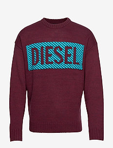 K-LOGOX-C PULLOVER - TAWNY RED