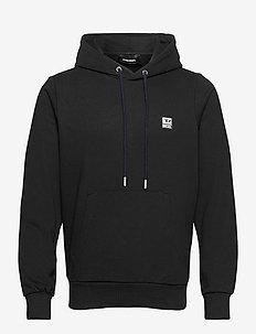 S-GIRK-HOOD-K21 SWEAT-SHIRT - hupparit - black black black