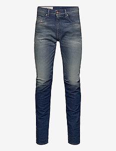 D-STRUKT-A - slim jeans - blue denim