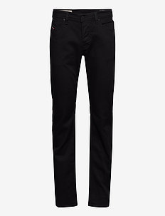 LARKEE-X L.34 TROUSERS - relaxed jeans - black/denim