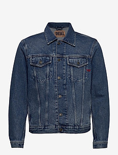 D-SAL JACKET - jeansjackor - denim