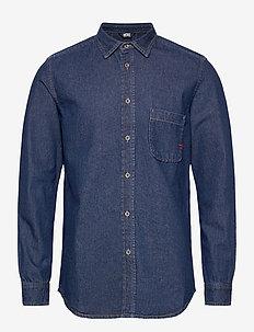 D-BILLY SHIRT - podstawowe koszulki - blue denim