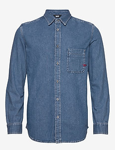 D-BILLY SHIRT - peruspaitoja - denim