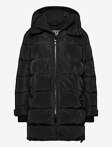 W-RUSSELL-LONG - padded jackets - black