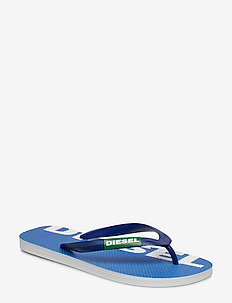"""BRIIAN"" SA-BRIIAN - sandals - klapki - turkish sea/jelly bean/star white"