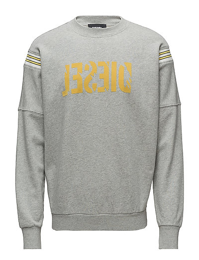S-Radio Sweat-Shirt Sweat-shirt Pullover Grau DIESEL MEN