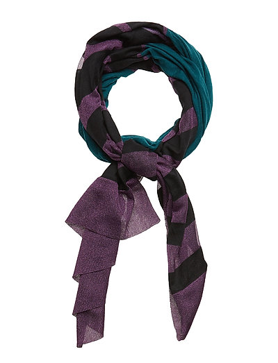 K-LIGHT SCARF - TEAL GREEN
