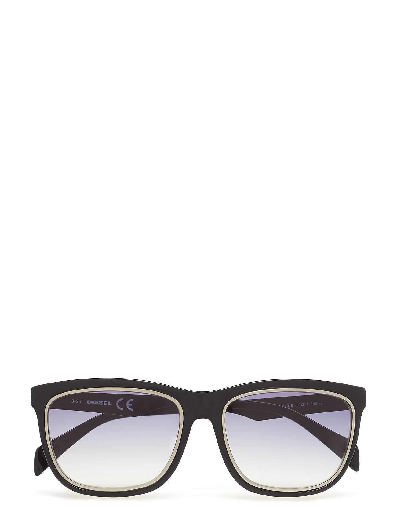 DIESEL Dl0165 Wayfarer Sonnenbrille Schwarz DIESEL