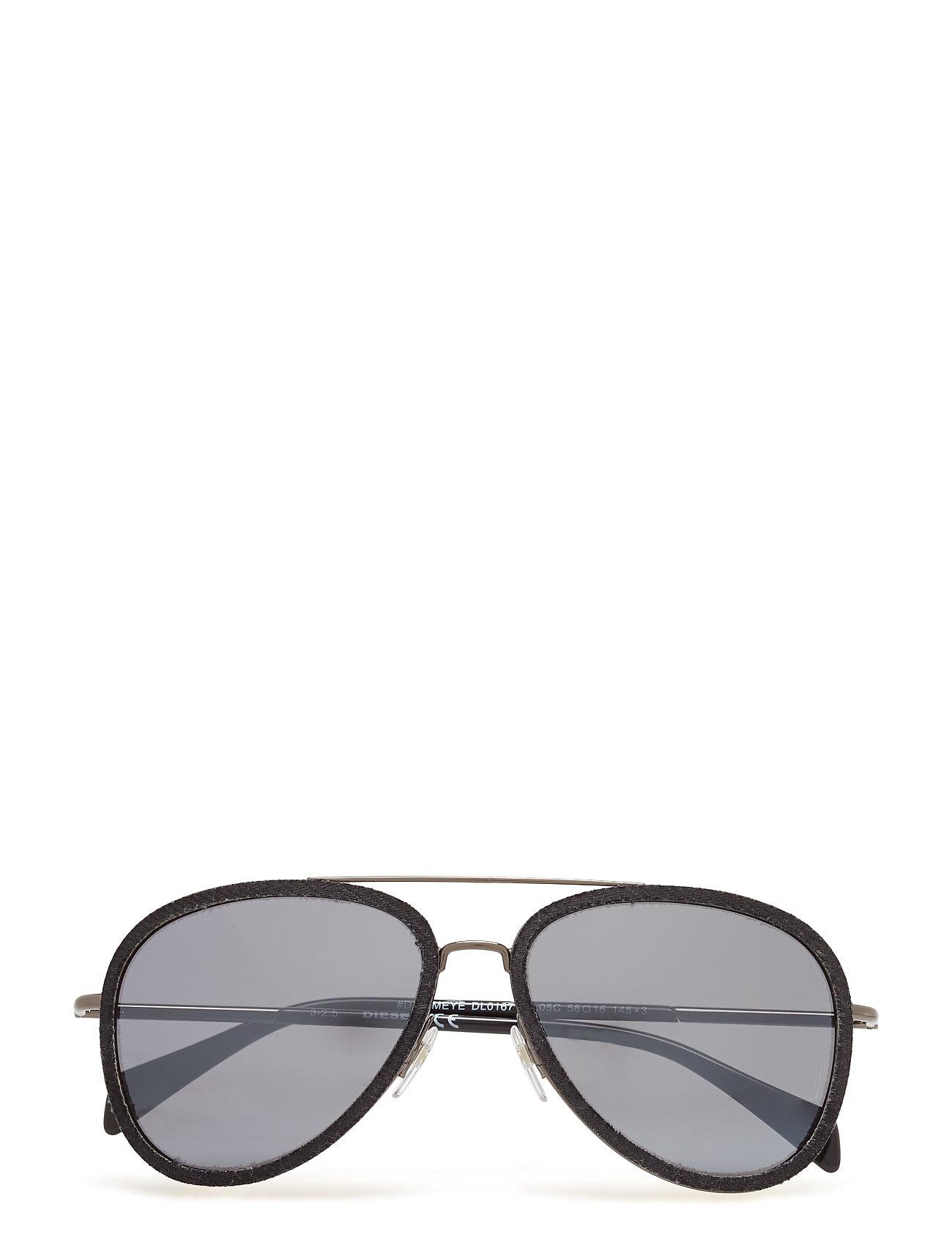 DIESEL Dl0167 Pilotensonnenbrille Sonnenbrille Schwarz DIESEL