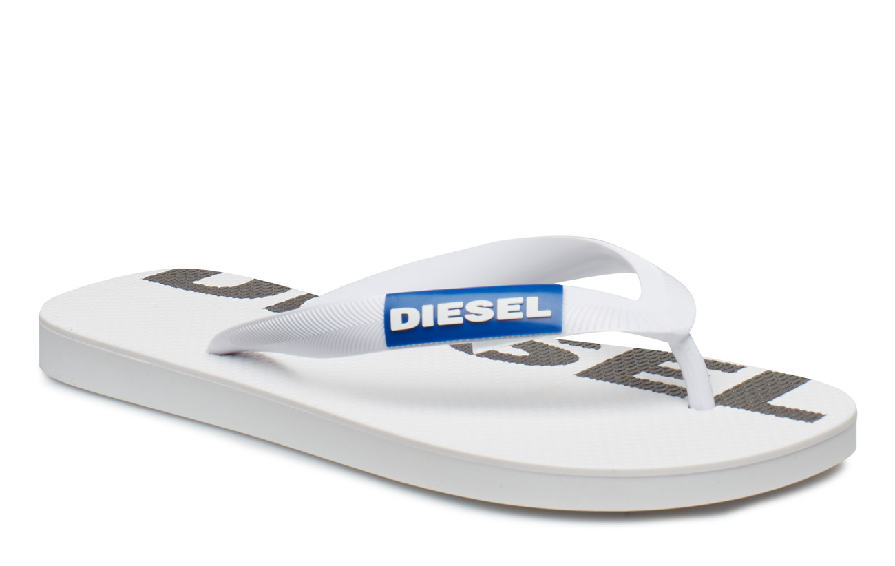 "Diesel Women ""BRIIAN"" SA-BRIIAN W - sandals - STAR WHITE/TURKISH SEA/BLACK"