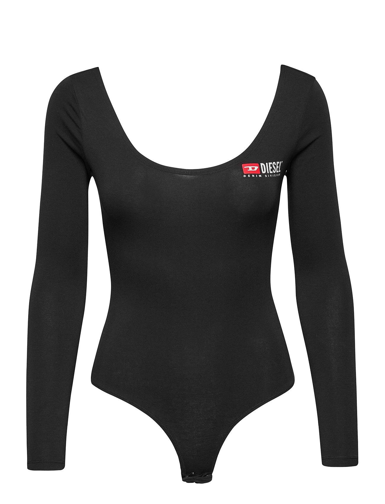 Uftk-Body-Ls Uw Body Body Bodysuit Sort Diesel Women
