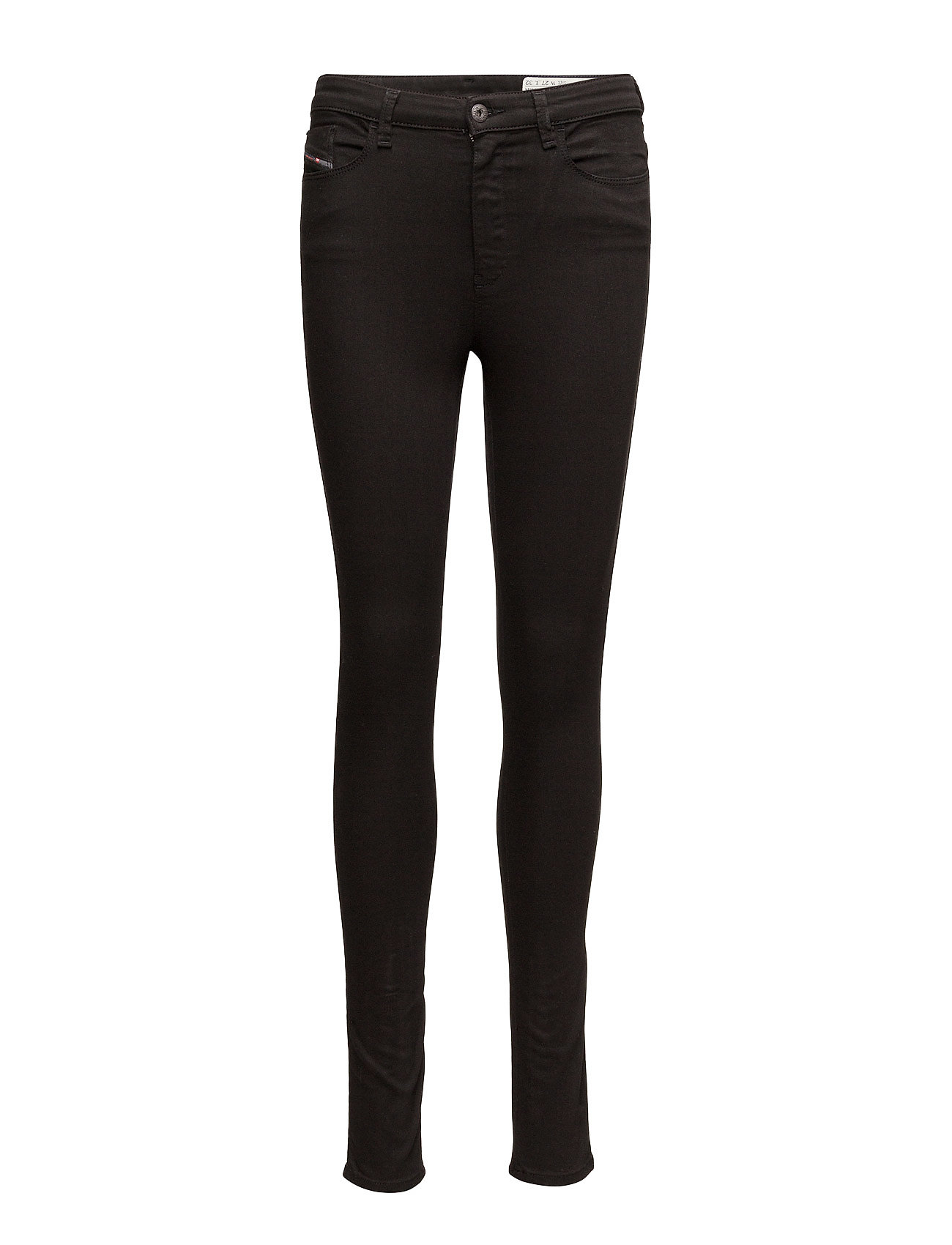 Diesel Women SKINZEE-HIGH TROUSERS - BLACK/DENIM