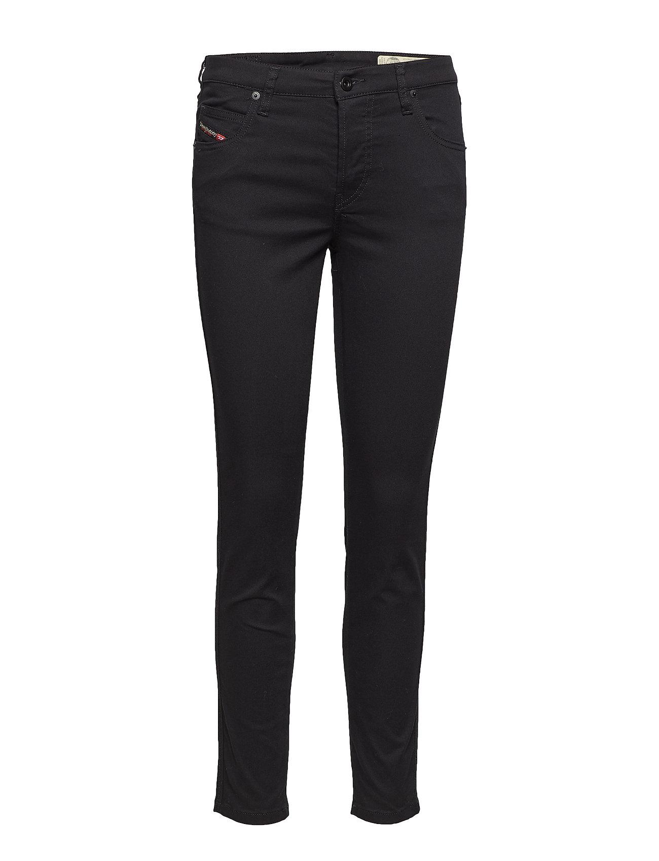 DIESEL Babhila Trousers Slim Jeans Schwarz DIESEL WOMEN