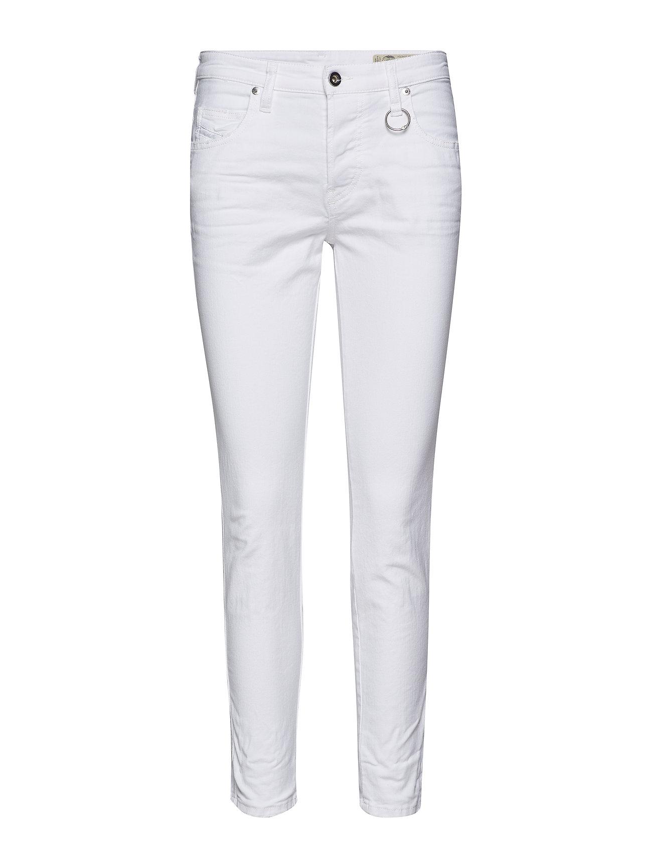 DIESEL Babhila Trousers Slim Jeans Weiß DIESEL WOMEN
